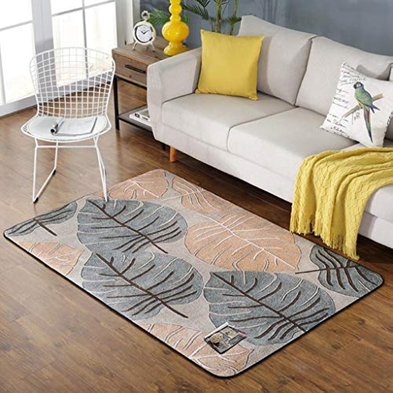 WEI Rug Nordic Rug, Teppich Wohnzimmer Rustikale Teppich, Moderne Schlafzimmer Teppichboden, Sofa Rechteckige Bettwsche