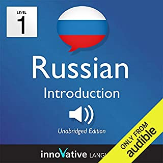 Learn Russian with Innovative Language's Proven Language System - Level 1: Introduction to Russian     Introduction Russian #1              By:                                                                                                                                 Innovative Language Learning                               Narrated by:                                                                                                                                 RussianPod101.com                      Length: 23 mins     122 ratings     Overall 3.5