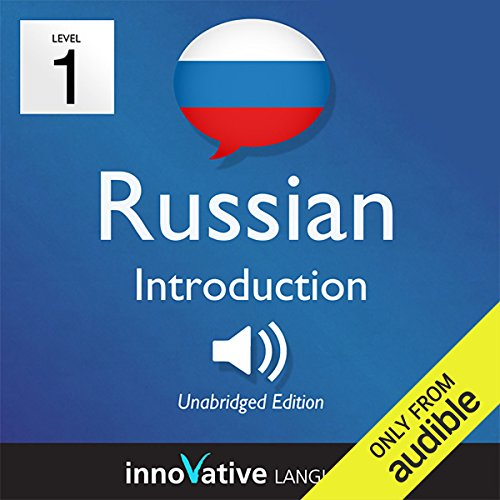 Learn Russian with Innovative Language's Proven Language System - Level 1: Introduction to Russian     Introduction Russian #1              By:                                                                                                                                 Innovative Language Learning                               Narrated by:                                                                                                                                 RussianPod101.com                      Length: 23 mins     15 ratings     Overall 3.7