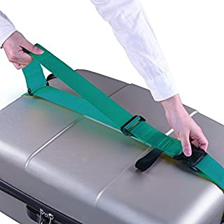 Smartrip Luggage Strap Heavy Duty Adjustable Suitcase Belts Travel Bag Accessories