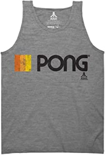 Ripple Junction Atari Pong Logo Adult Tank