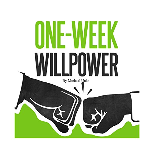 One-Week Willpower audiobook cover art