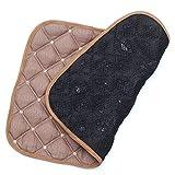 OVER-9 テラヘルツ鉱石 マット テラヘルツ 枕 クッション シート 本物保証 原石 【ベージュ】