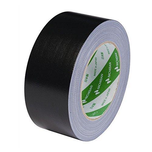 ニチバン 布テープ102N 黒 50X25 102N-50 クロ 00039488 【まとめ買い5個セット】