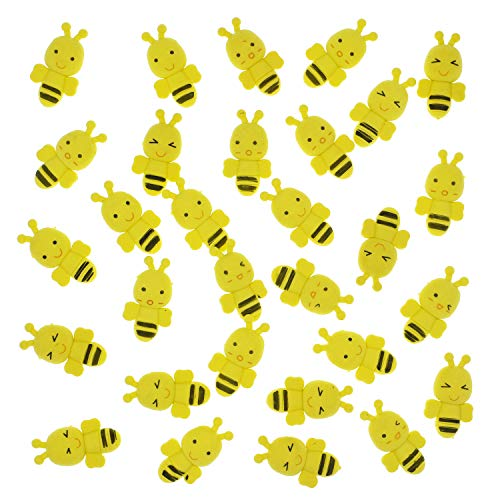 YOKIND 30 Pack Bee Erasers Assortment Pencil Erasers Puzzle Erasers Kid Erasers for Party Favors Games Prizes Carnivals and Classroom Rewards