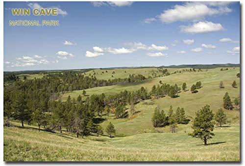 Wind Cave National Park Nature Refrigerator Magnet Size 2.5' x 3.5'