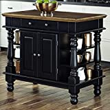 Collette Kitchen Island, Overall: 36'' H x 42'' W x 24'' D, Base Material: Solid + Manufactured Wood