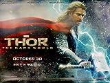 Thor The Dark World Beidseitige Filmplakat Advance Quad