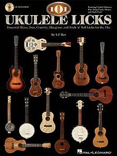 101 Ukulele Licks Essential Blues Jazz Country Rock & Roll Uke Bk/Cd (Book & CD) by VARIOUS (2011-03-03)