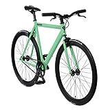 bonvelo Singlespeed Fixie Fahrrad Blizz Velvet Green (53cm / Medium für Körpergrößen von 162cm bis 171cm)