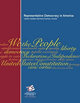 Paperback Representative Democracy in America: Voices of the People Video Series Instructional Guide Book