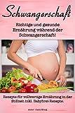 Schwangerschaft: Richtige und gesunde Ernährung während der Schwangerschaft! (Rezepte für vollwertige Ernährung in der Stillzeit inkl. Babybrei-Rezepte)