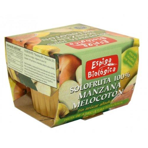 Espiga Biologica Solofruta 100% Manzana Y Melocoton