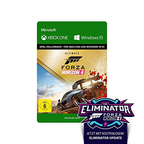 "Forza Horizon 4 – Ultimate Edition - Xbox One/Win 10 PC - Download Code | inkl. ""The Eliminator"" Update"