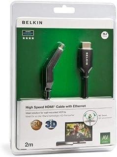 ACCESSOIRE TV BELKIN HDMI ETH CONNECTR PIV 180ø 2M