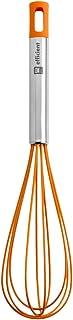 comprar comparacion BRA Efficient Batidora de Cocina, Acero INOX, Nailon y Silicona, Naranja, 31 cm
