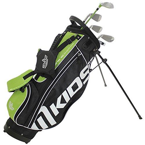 MKids Unisex Rechts Stand Bag Set - Groen, 57-Inch/145 cm, 57-Inch