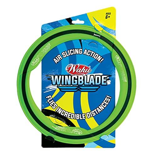 WAHU- Wingblade Anneau Volant extérieur avec poignée Souple pour garçons et Filles à partir de 6 Ans, GL31165.012, Multicolore