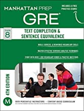 Manhattan Prep Study 1,000 Vocabulary Words Text Completion & Sentence Equivalence GRE Strategy Guide, 4th Edition (Paperback) - Common