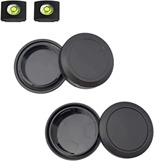 EOS R Front Body Cap & Rear Lens Cap Cover for Canon EOS R EOS RP More Canon RF Mount DSLR and Lens Accessories with Hot S...