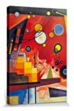 1art1 Wassily Kandinsky - Schweres Rot, 1924 Poster