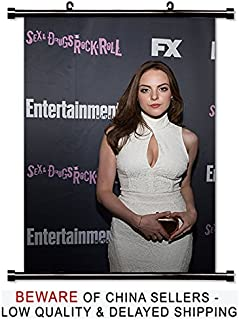 Elizabeth Gillies Sexy Actress Fabric Wall Scroll Poster (16x24) Inches
