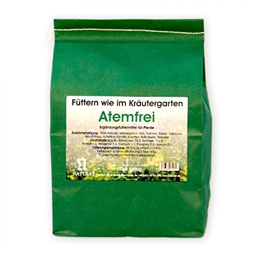 Natusat Kräutermischung Atemfrei -Husten- 1000 g, für Pferde