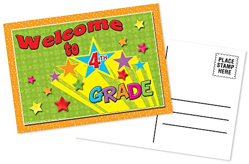 Top Notch Teacher Products Postcards Welcome to 4th Grade