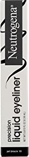 Neutrogena Precision Liquid Eyeliner with Honey & Coconut, Hypoallergenic, Smudge- & Water-Resistant Eyeliner Makeup for P...