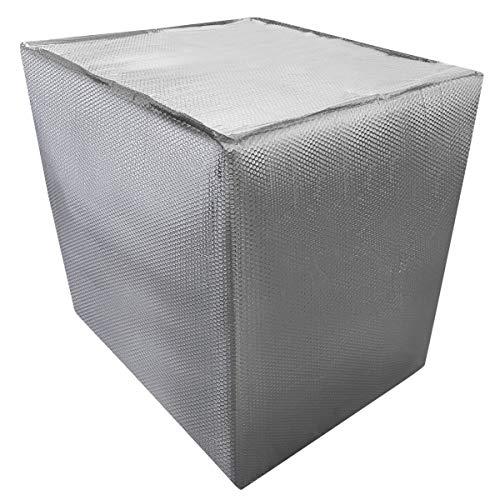 REKUBIK IBC Thermohaube geschlossen Frostschutz Größe 1000l IBC (120x100x116cm)