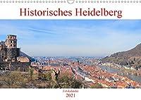 Historisches Heidelberg (Wandkalender 2021 DIN A3 quer): Der Kalender zeigt das historische Heidelberg von seinen eindrucksvollsten und seinen schoensten Seiten. (Monatskalender, 14 Seiten )