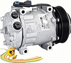 GOWE SANDEN 7H15 Auto AC A/C Aircon Air Conditioning Compressor Cooling Pump Clutch PV6 for Western Star Truck 12Volt SD4071 4071