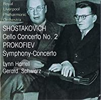 Dmitri Shostakovich / Prokofiev: Cello Concerto No.2 / Symphony-Concerto for Cello and Orchestra by Lynn Harrell (2006-05-09)