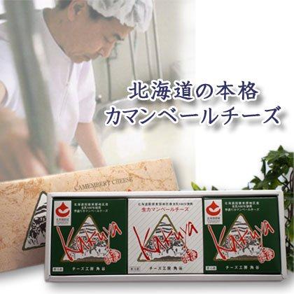【チーズ工房角谷】 カマンベールチーズ 3個 ギフトセット