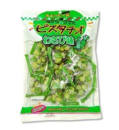 1 pack Sennarido Arlington Mall Crisp Free shipping New Pistachio 240 Nuts flavor g. Wasabi