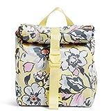 Vera Bradley Recycled Lighten Up Reactive Tote Lunch Bag, Sunny Garden