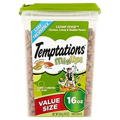 CatNip for Cats TEMPTATIONS MixUps Cat Treats (Chicken,... [tag]