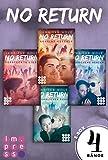 No Return: Alle vier Bände der Bandboys-Romance-Reihe in einer E-Box!