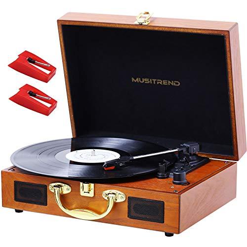 MUSTRIEND Platine Vinyle 33/45/78