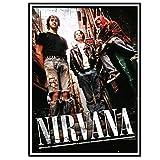 Swarouskll Nirvana Alley Laneway Poster Bild Hintergrund
