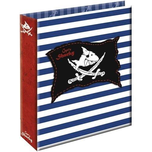 Spiegelburg Materiale Scolastico Bambini Raccoglitore ad Anelli Formato A4 Serie Capt'N Sharky