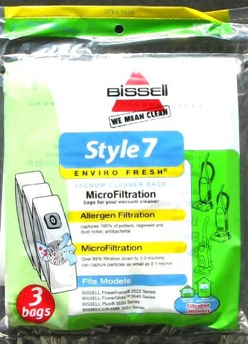 Bissell Home Care Inc 3Pk Bissell Style7 Bag 30861 Vacuum Bag