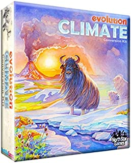 North Star Games Evolution Climate Conversion Kit for Standard Evolution Strategic Game