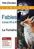 Fables livres VII à XI (Petits Classiques Larousse) - Format Kindle - 9782035981448 - 2,99 €