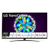 LG NanoCell 49NANO866NA Smart TV 4K Ultra HD 49', con Wi-Fi, Processore α7 Gen3, Nano Color, Local Dimming, Filmmaker Mode, Dolby Vision IQ, Dolby Atmos, HDMI 2.1, Google Assistant e Alexa Integrati