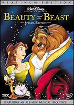 DVD Beauty and the Beast (Platinum Edition) Book