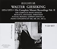 Complete Recordings of Wal by Mozart