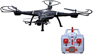 NiGHT LiONS TECH 47 Inch N7C-1 6 Channel 6 Axis GYRO Big Quadcopter with HD Camera Drone Black