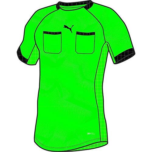 PUMA Herren Referee Jersey Schiedsrichtertrikot, Green Gecko, XL