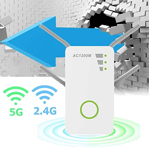 Range Extender 1200 Mbps Internet Signaalversterker Met 4 Externe Antennes En 3 Bedrijfsmodus Ondersteuning Van 2,4 GHz / 5 GHz Dual-band Wifi